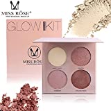 Best Face Contours - MISS ROSE Miss Rose Professional Glow Kit Brighten Review