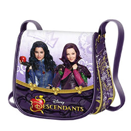 Disney-Bolso-bandolera-descendientes-Gold-Mal-y-Evie-descendientes-Disney