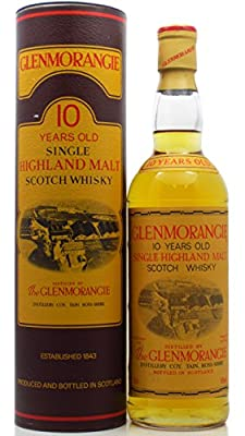Glenmorangie - Highland Single Malt (old bottling) 10 year old