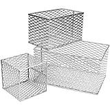 neolab 2–5091aluminio cesta, aluminio, medio, 256mm x 152mm x 152mm