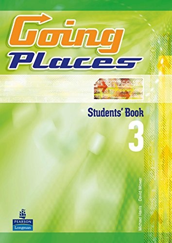 Going Places 3 Student'S Book - 9788498373288