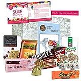 Produkt-Bild: Besondere Süßigkeiten Box Süße Weltreise | Süßigkeiten Mix mit verschiedenen Süßigkeiten aus aller Welt | Süßes zu Weihnachten Süßigkeiten aus Amerika