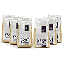 BodyChange Brotbackmischung 6er Pack - glutenfrei, natürlich, paleo, ohne Weizen, low carb - Mix 3x Hell 3x Dunkel