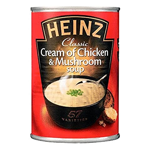 Heinz poulet crémeux et champignons Soupe 400g