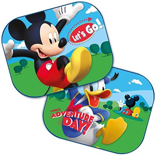 Preisvergleich Produktbild Sonnenschutz Disney MICKEY MOUSE 2 Stück 44cmx35cm universal Seitenscheiben Auto