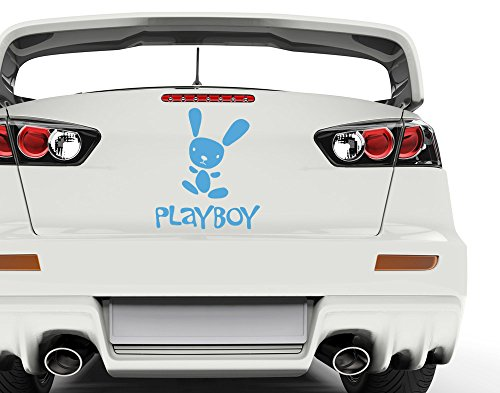 universumsum Autoaufkleber Playboy Haselnuss 10 x 12 cm uss186_a-10-061 Car-Tattoos Autotattoo Auto Tuning Car Styling Selbstklebend
