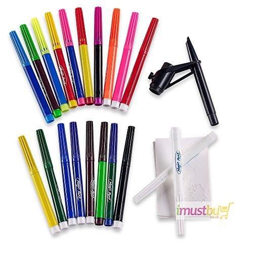 imustbuy-20pc-magic-pens-amazing-colour-changing-pens-set-stencils-blow-pen-gift-set