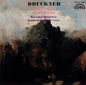 Bruckner:String Quintet [Import allemand]