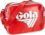 'Gola Redford Retro Inspired Sports Bag - Red/white