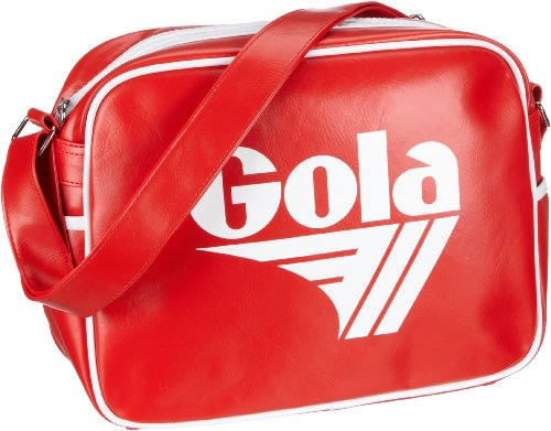 Gola Redford Retro Inspired Sports Bag - Red/White