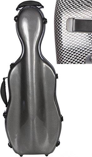 Bratschenkoffer Glasfaser Ultra Light 38-43 cm carbon looking M-Case