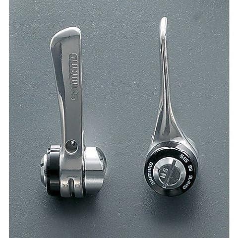 SL-R400 downtube shifters - braze-on, 8-speed Silber silber 8 Speed