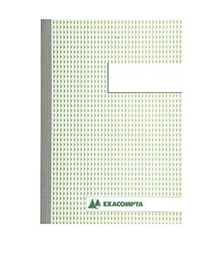 Exacompta 3250E Durchschreibbuch kariert 5x5 21/14,8 50 Blatt doppelt durchschreibend 10er Pack