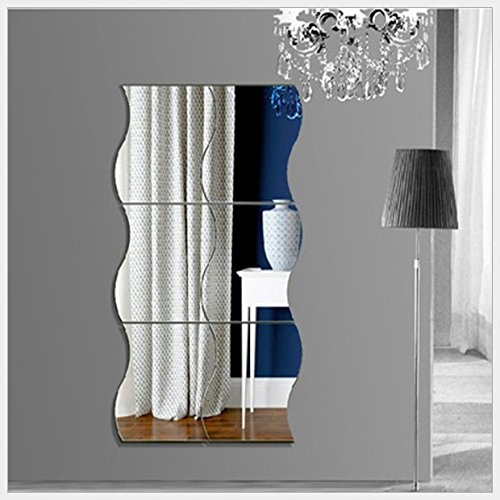 t-mida-home6-piece-combination-wave-acrylic-mirror-stereo-wall-stickers-children-wall-stickers-mirro