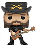Lemmy Kilmister as a stylized POP vinyl from Funko! Figure stands 3 3/4 inches and comes in a window display box. Check out the other Music figures from Funko! Collect them all!