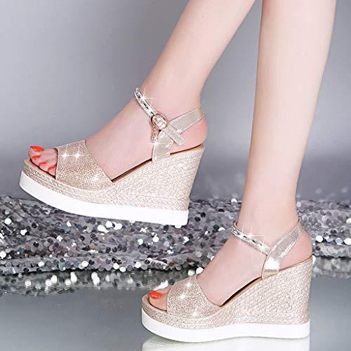 separation shoes 99bdf b6bb0 TTMall Zeppe Donna Estive,Stivaletti Donna Estivi,Sandali ...