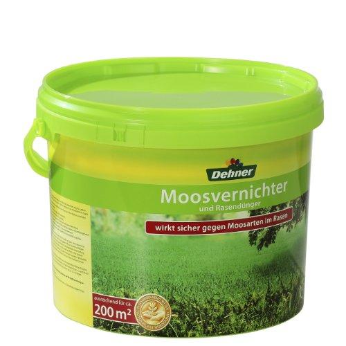 Dehner Moosvernichter und Rasendünger, 8 kg, für ca. 200 qm