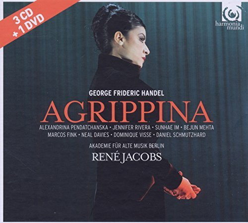 HANDEL: Agrippina - Deluxe-Edition [3 CDs & DVD] / Jacobs, Pendatchanska, Fink, Rivera, Im, Mehta, Academy for Ancient Music Berlin