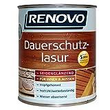 2,5L RENOVO Dauerschutzlasur 9410 Ebenholz Lasur Holzlasur