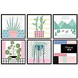 Mur Des Autocollants Des Peintures Murales Les Décalques Autocollants De Mode De L'Art La Décoration D'Intérieur En Bricolage Cadre Fleurs Matériel Pvc
