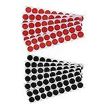 Wuyan 1800 pz Adesivi autoadesivi con obiettivi di ripresa reattivi Pasters per Target Adesivi autoadesivi da 2 cm / 0,8 Pollici