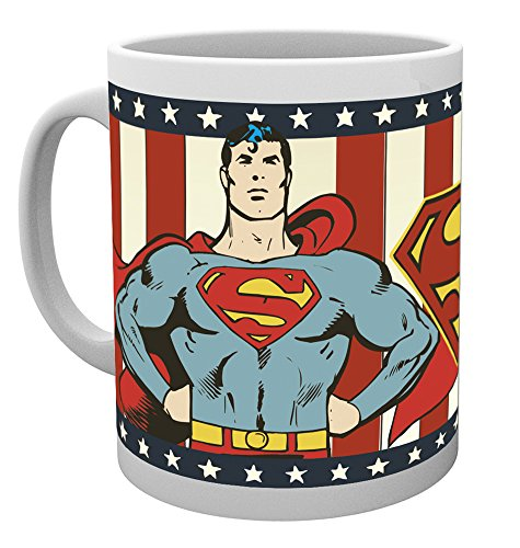 DC Comics GB Eye LTD, Superman Vintage, Tasse