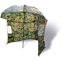 Zebco Schirme Nylonstorm Umbrella 2.20m Camou - Paraguas de pesca, color, talla 2.20 m