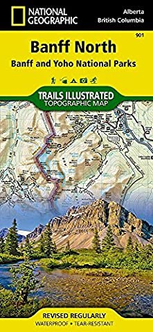 Banff North [Banff and Yoho National Parks] (National Geographic Trails Illustrated Map) by National Geographic Maps - Trails Illustrated