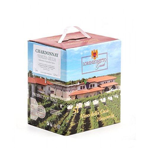 Cantina lorenzonetto - 5 lt - bag in box chardonnay