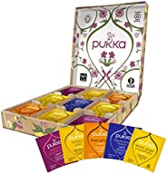 Pukka Support Selection Box, Scatola di Tisane Biologiche Assortite, Idea Regalo di Compleanno, 45 Bustine