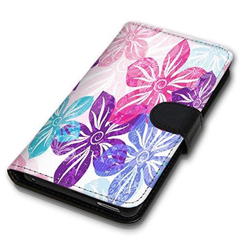 Wallet Book Style Flip Handy Tasche Case Schutz Hülle Schale Motiv Etui für Apple iPhone 4 / 4S - Variante UMV14 Design12 Design 2