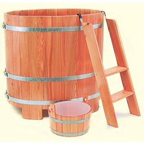 Arend Tauchkübel Kambala-Holz inkl. Einstiegsleiter ca.350 L