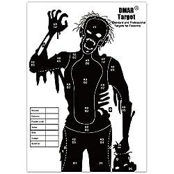 DMAR 42×30cm 20pcs Cible pour Le tir à l'arc, cibles tir à l'arc et cibles d'armes à feu,Cible Papier
