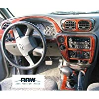 Chevrolet Chevy Trailblazer Interior de Madera del Burl Dash Juego de Acabados Set 2002 2003 2004