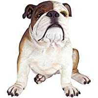 Design Toscano DB383052 Sculpture de buster/bouledogue Multicolore 40,5 x 35,5 x 35,5 cm