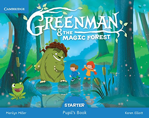 Greenman and the Magic Forest Starter Pupil's Book with Stickers and Pop - outs
