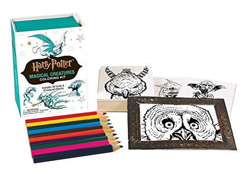 Harry Potter Magical Creatures Coloring Kit (Miniature (Potter Harry Kit)