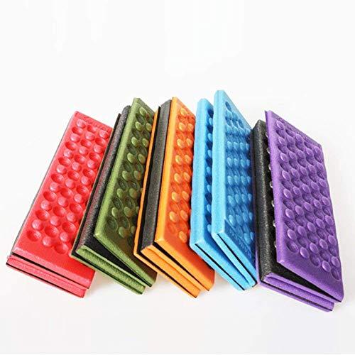 Ainstsk - Almohadilla Plegable de Espuma para Asiento de Silla de pícnic, Impermeable, Color al Azar