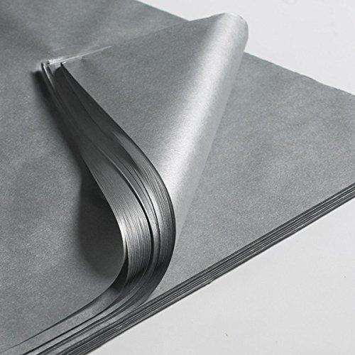 CREAVVEE® Decoupage Seidenpapier, 50 x 70 cm, Silber 10 Blatt thumbnail