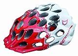 Catlike Erwachsenen Helm Whisper Plus MTB, weiß/rot, S = 50-53cm, FA003440043 - 0119003PSM