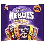 Cadbury Family Heroes Treat Size Chocolate Packs, 278 g,...