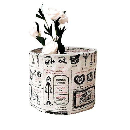 Dtuta Tuch Wasserdichte Falten Kosmetische Desktop-Aufbewahrungsbox Container Nachttisch Kleiderschrank Schreibtisch Schrank Aufbewahrungstasche