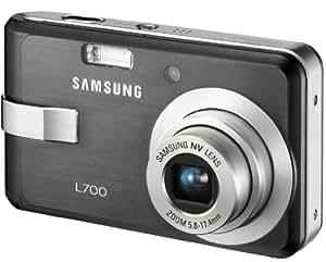 Samsung Appareil photo compact numérique L700 7 Mpix zoom optique 3x Ecran LCD 2,5 pouces Noir