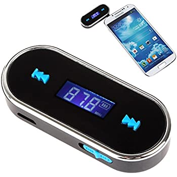 JSG Accessories/® Universal HANDS FREE FM Radio Music Transmitter for iPod 5th iPhone 5 4 4S HTC NOKIA LG SAMSUNG SONY