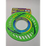 "Rad Flyer Green Super Thin Flexible Geo Disc With Designs Flying Frisbee 10""X12"" Toy"