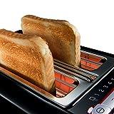 Siemens TT86103 Toaster / 860 Watt / für 2 Scheiben / wärmeisoliertes Gehäuse / schwarz - 2