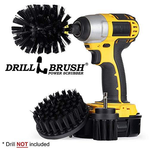 Original Drill Brush Power Scrubber – Drill Brush Attachment – Drill Brush Kit – Drill Brush Attachment for Cleaning – Drill Brush – Cleaning Drill Brush Set - Nylon Drill Brush - Grill Brush