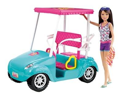 Barbie X4926 - Coche De Golf De Barbie Y Sus Hermanas (Mattel) por Mattel