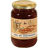 Le Rucher de l'Ours - Miel de Châtaignier - Pot de 500g, Liquide
