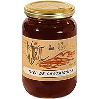 Le Rucher de l'Ours - Miel de Châtaignier - Pot de 500g, Solide
